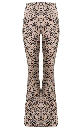 Cheetah-Flared-Broek'