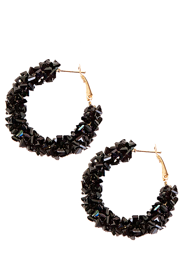 Creool-Luxury-Earrings-Black'