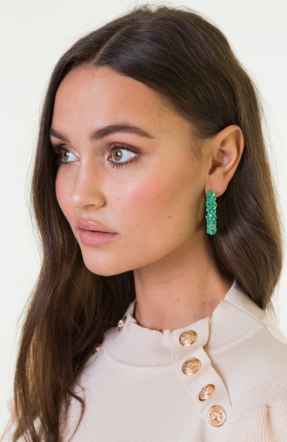 Creool-Luxury-Earrings-Green-1