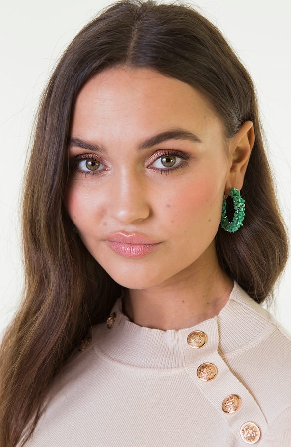 Creool-Luxury-Earrings-Green-2