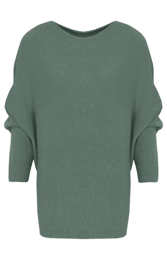 Debby-Sweater-Legergroen'