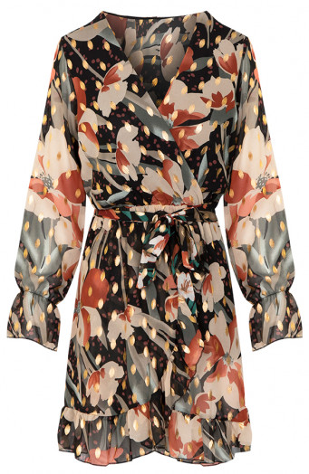 Demy-Leaves-Jurk-Multicolor'