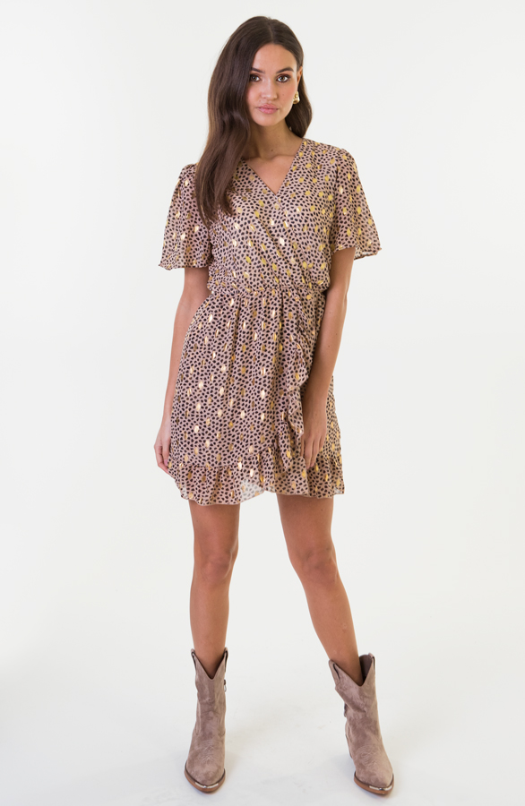 Emma-Cheetah-Dress-Beige-1
