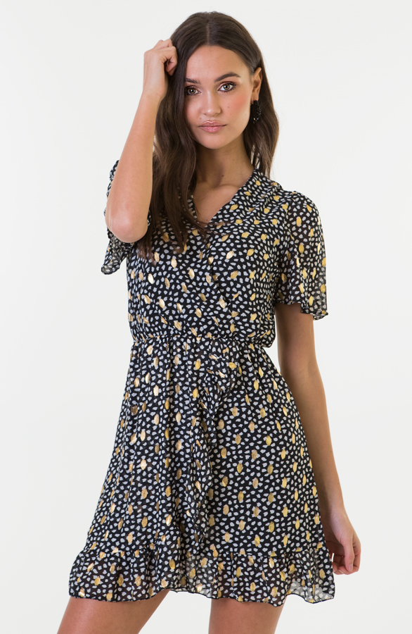 Emma-Cheetah-Dress-Black-1