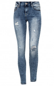 Jenna-Damaged-Jeans-Blauw