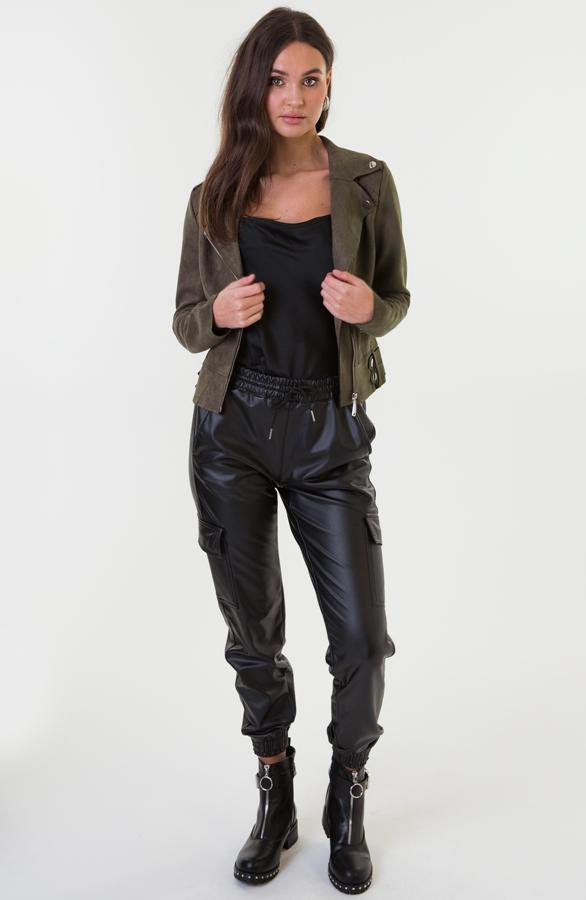 Jessie-Suede-Jacket-Groen-1