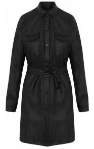 Lina-Leather-Dress-Short