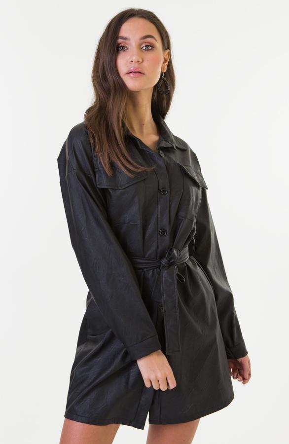 Lina-Leather-Dress-Short-2