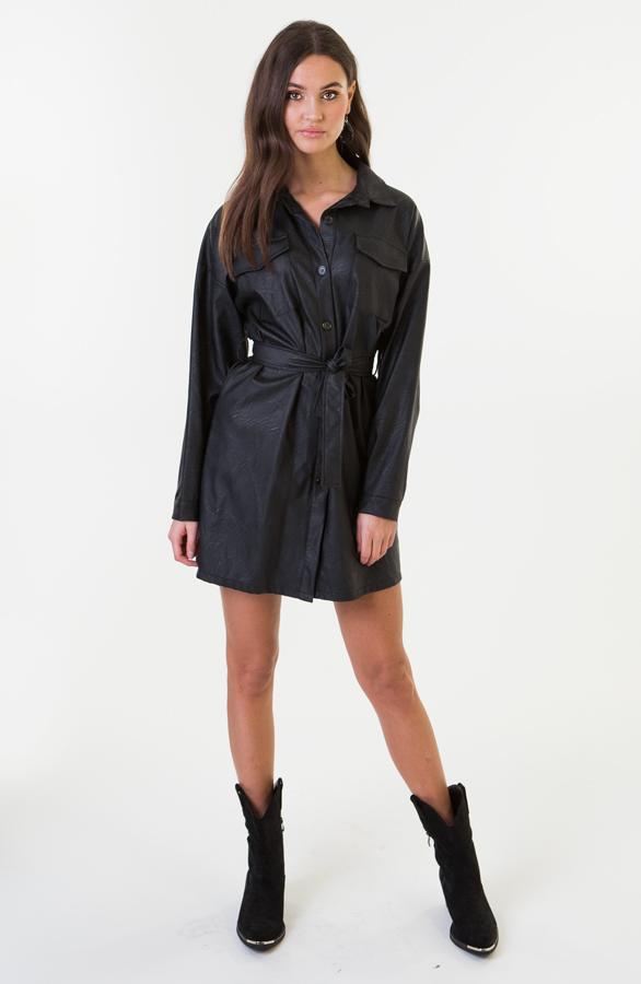 Lina-Leather-Dress-Short-3