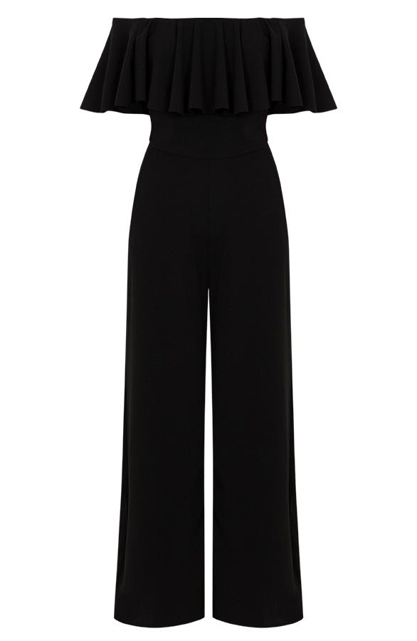 Off-Shouder-Jumpsuit-Zwart'