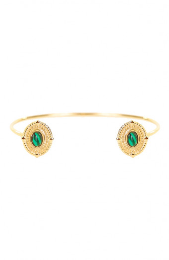 Amira-Double-Malachite-Armband'