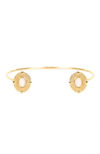 Amira-Double-White-Jade-Armband'