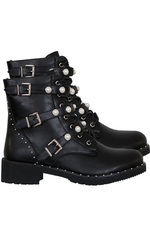 Biker-Boots-Parel-Maud'