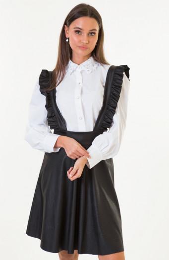 Dana-Leren-Tuinjurk-Zwart-4'