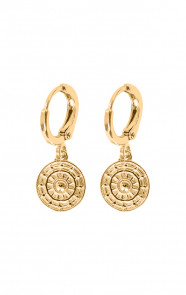 Elif-Coin-Earrings-Gold