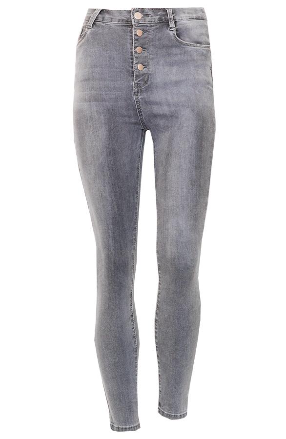 Ellen-High-Waist-Jeans-Grijs'