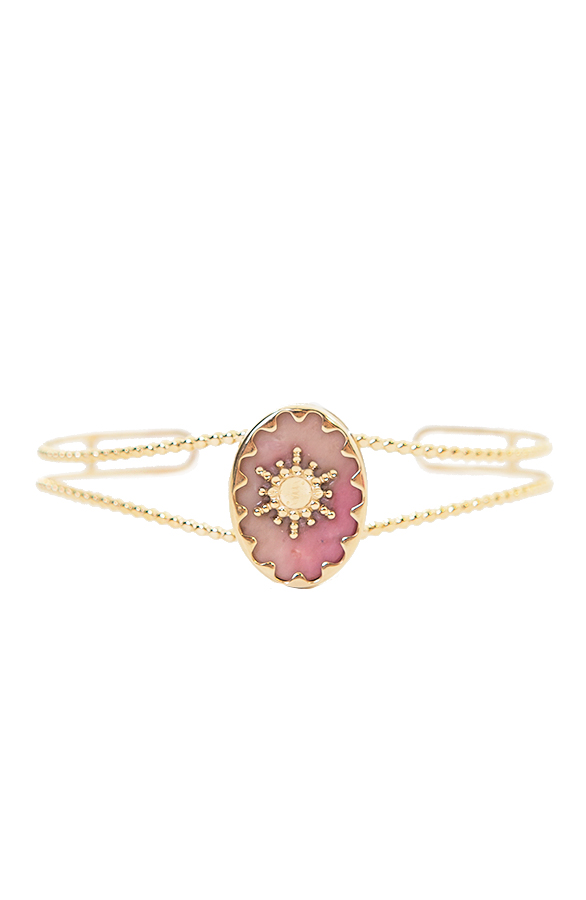Fien-Pink-Stone-Armband'