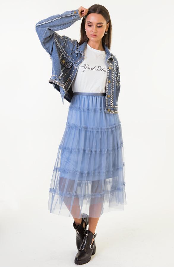 Flore-Tule-Rok-Jeansblauw-5