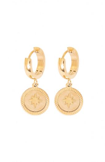 Isabel-Star-Earrings-Gold'
