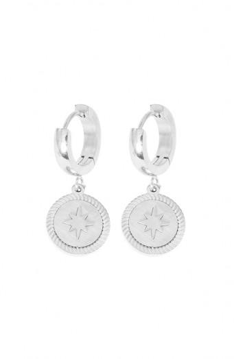 Isabel-Star-Earrings-Silver'