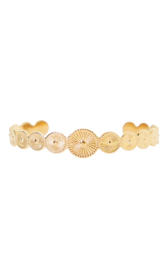 Lize-Circle-Armband-Goud'