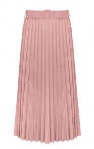 Marni-Leren-Plisse-Rok-Roze