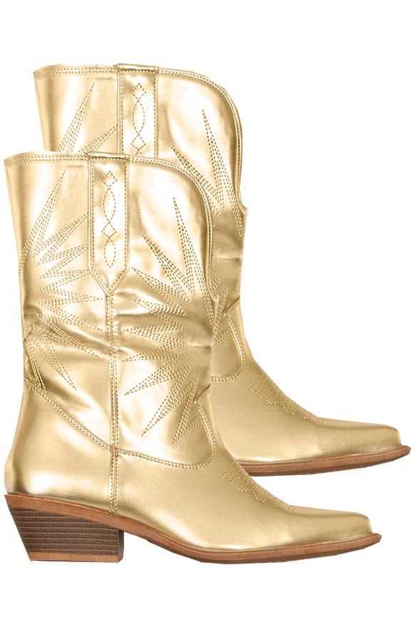 Rachel-Cowboylaarzen-Goud'
