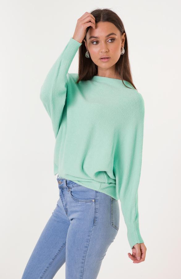 Debby-Sweater-Mintgroen-1