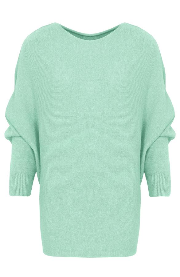 Debby-Sweater-Mintgroen