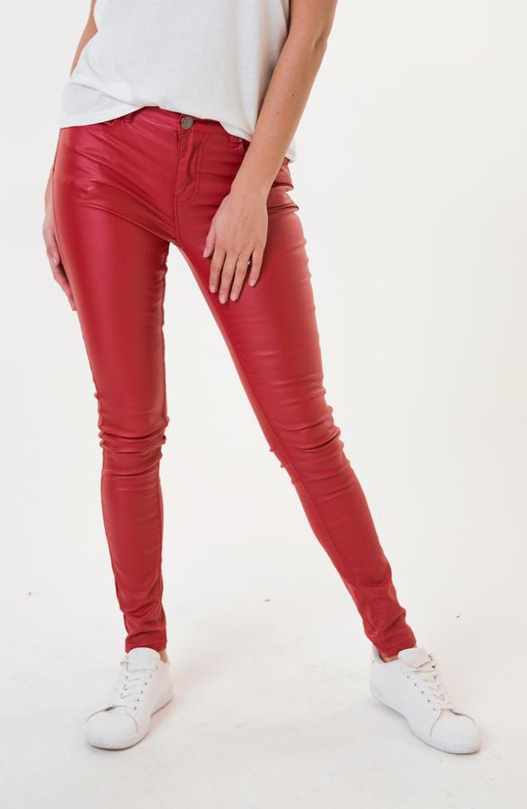 Elle-Coating-Jeans-Rood-2'
