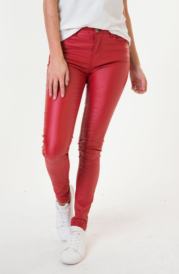 Elle-Coating-Jeans-Rood-3