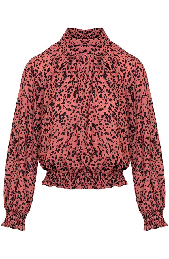 Leopard-Blouse-Caitlyn-Koraal'