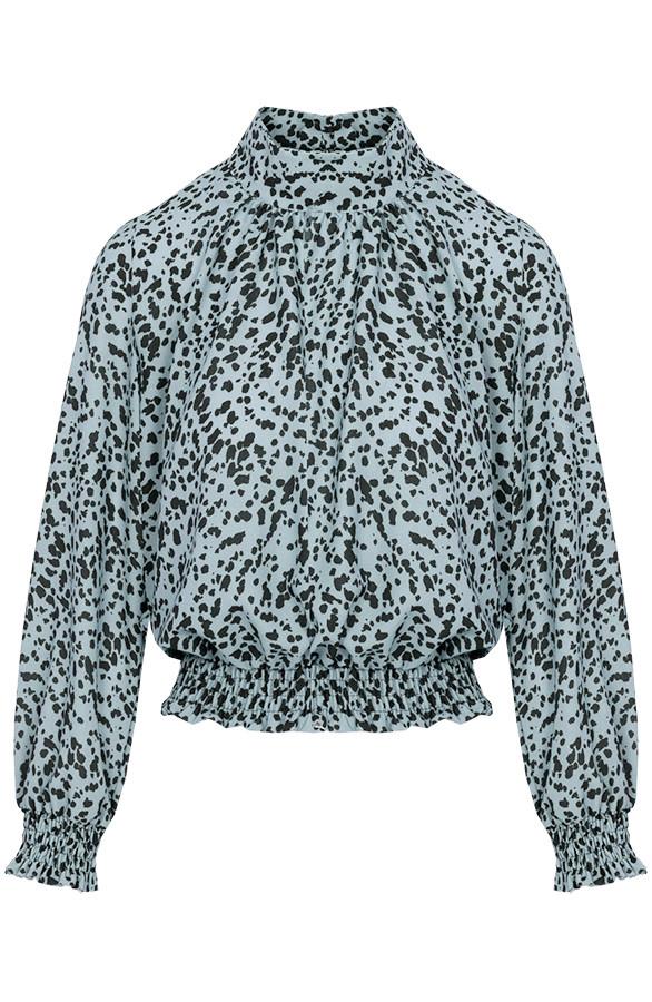Leopard-Blouse-Caitlyn-Mint