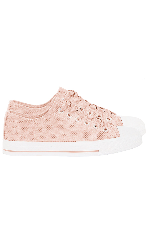 Suede-Sneakers-Soof-Roze'